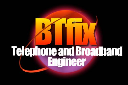 BT Fix Logo - Telephone & Broadband Engineer